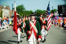 The annual Memorial Day Parade moves along Main Street on Monday, May 28, 2019 in downtown Midland. (Katy Kildee/kkildee@mdn.net)