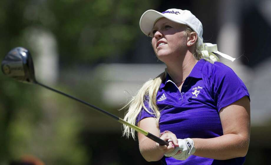 Hailee Cooper of Montgomery, shown here this past April in the District 12-6A tournament, is set to particpate in the 2018 U.S. Open later this week in Shoal Creek, Alabama. Photo: Jason Fochtman, Staff Photographer / Houston Chronicle / © 2018 Houston Chronicle