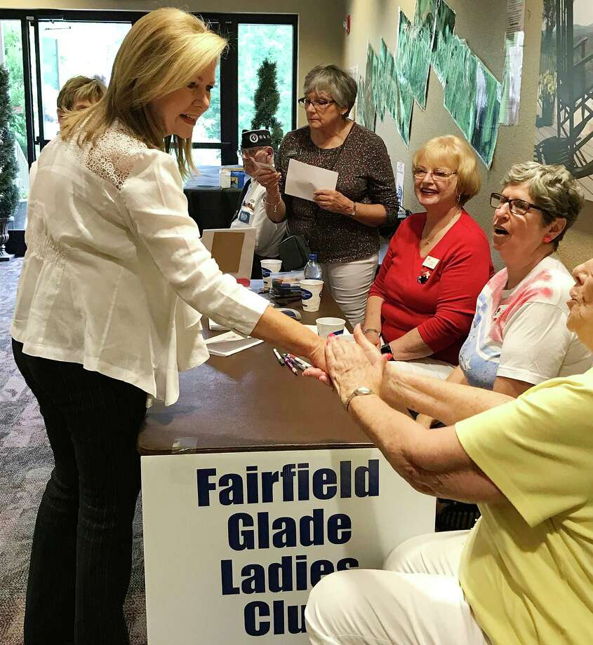 """""""I will give you good, solid conservative representation,"""" Rep. Marsha Blackburn, R-Tenn., said as she campaigned in Tennessee on Saturday. Photo: Washington Post Photo By Mary Jordan / Mary Jordan"""