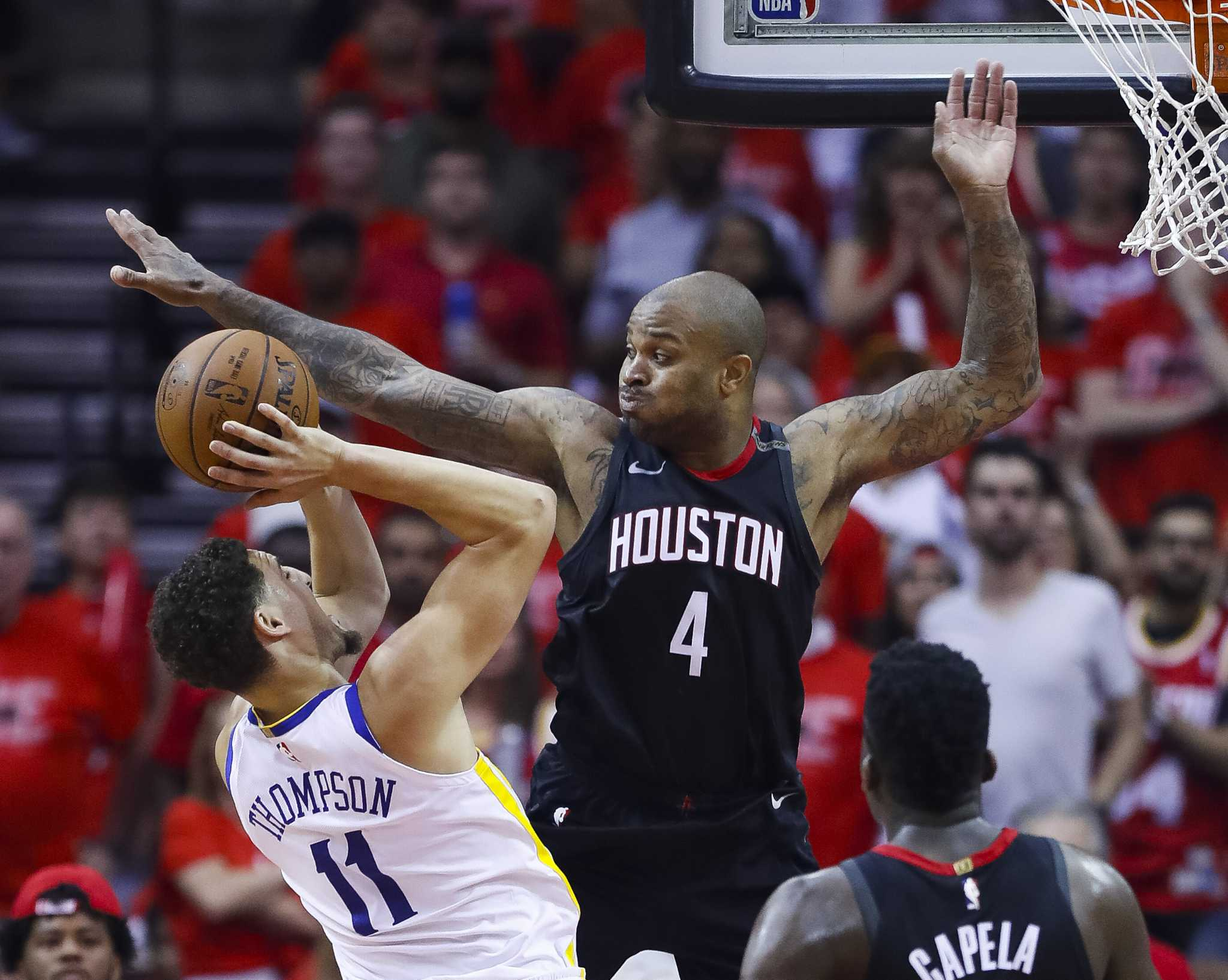 Rockets' P.J. Tucker played in Game 7 hours after triple root canal