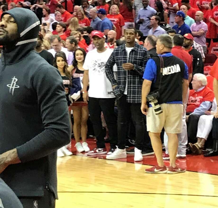 Kylie Jenner, Travis Scott Among Stars At Rockets-Warriors