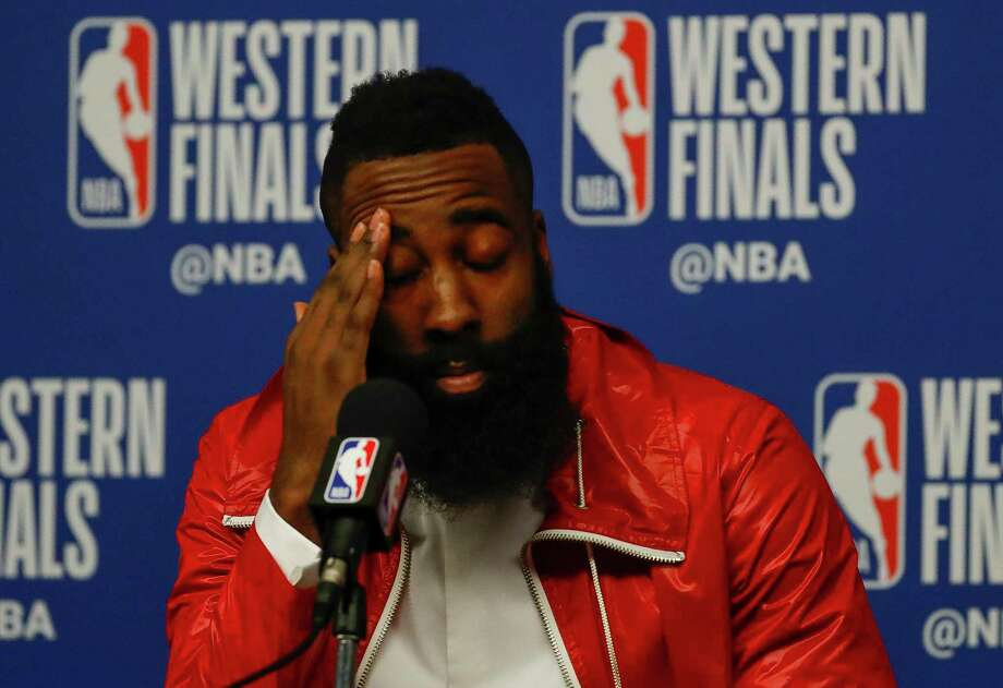 James Harden is the odds-on favorite for NBA MVP, although he once again will be dogged by critics for falling short of the Finals again as a Rocket. Photo: Karen Warren, Houston Chronicle / © 2018 Houston Chronicle