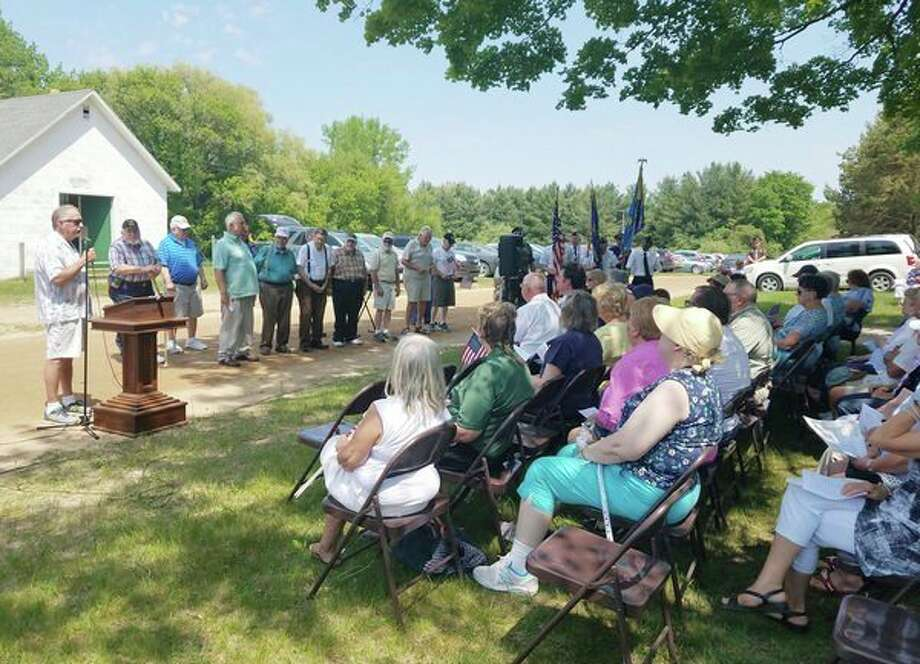 Several local residents attended the 79th annual Memorial Day service in Grant Township on Sunday. (Submitted Photo)