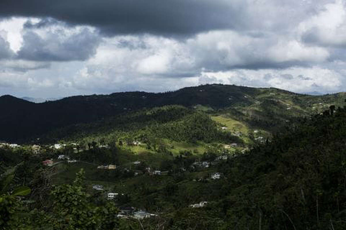 A view of the countryside in Caguas, Puerto Rico.