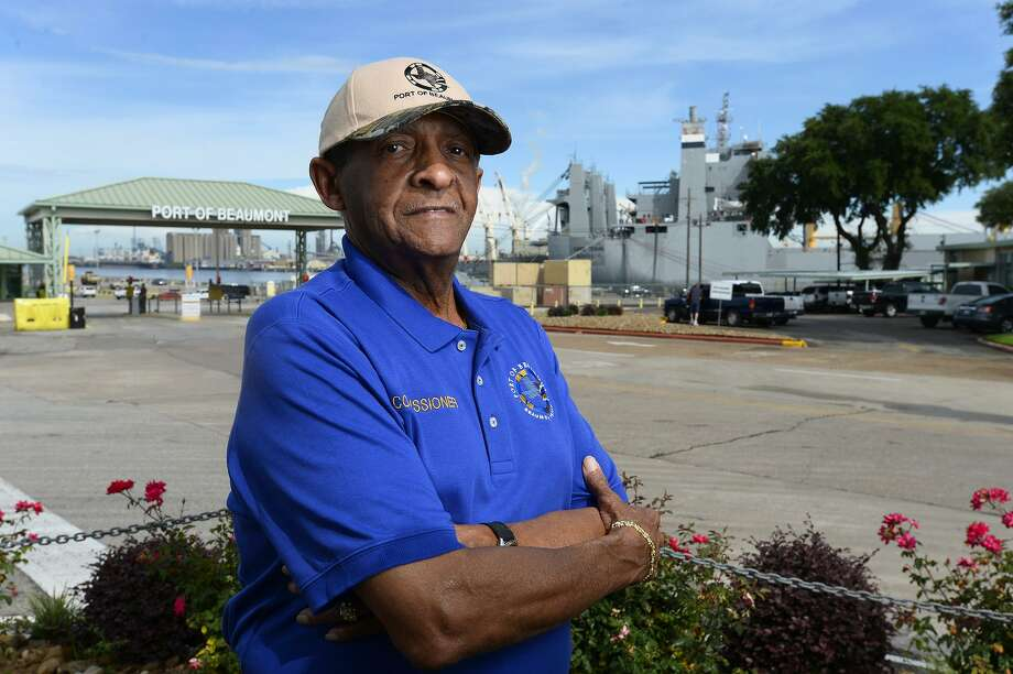 "Lee Smith, a commissioner with the Port of Beaumont, was appointed president of the board recently, taking over for C.A. ""Pete"" Shelton. Smith is the first African-American president in the port's history. Photo taken Wednesday 5/23/18 Ryan Pelham/The Enterprise Photo: Ryan Pelham / The Enterprise / ©2018 The Beaumont Enterprise/Ryan Pelham"