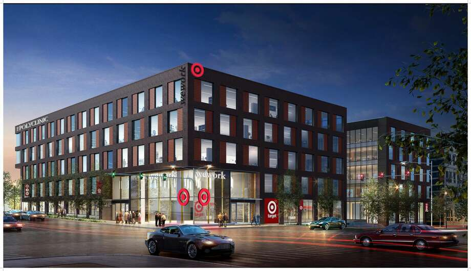 Target plans to open three new Seattle-area stores in the next two years in Ballard, University District and Bellevue. This rendering shows the Ballard plan at 1448 NW Market St. Photo: Target