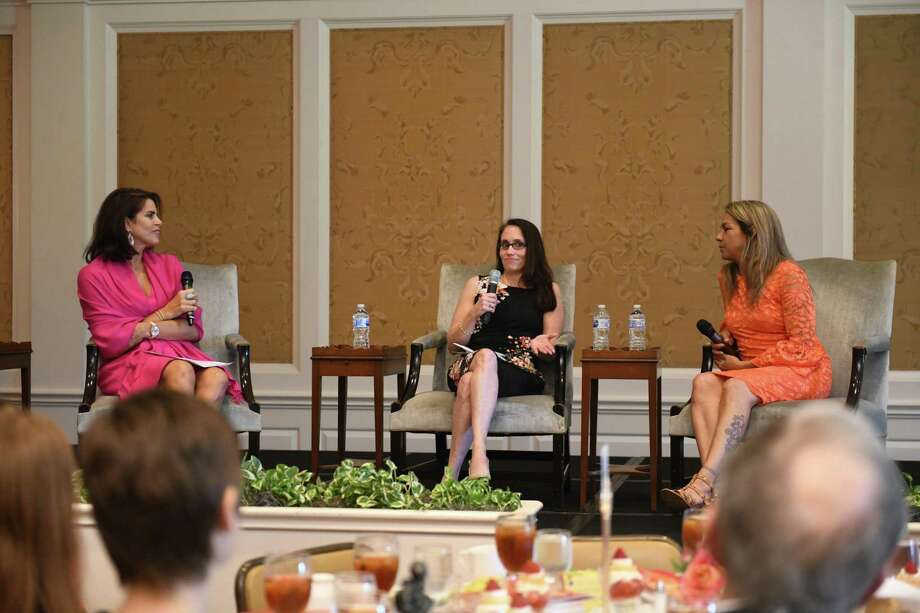 From Left To Right: Lisa Malosky, Emcee Speaks With Lisa Carpenter And  Michelle Hansford. The Santa Maria ...