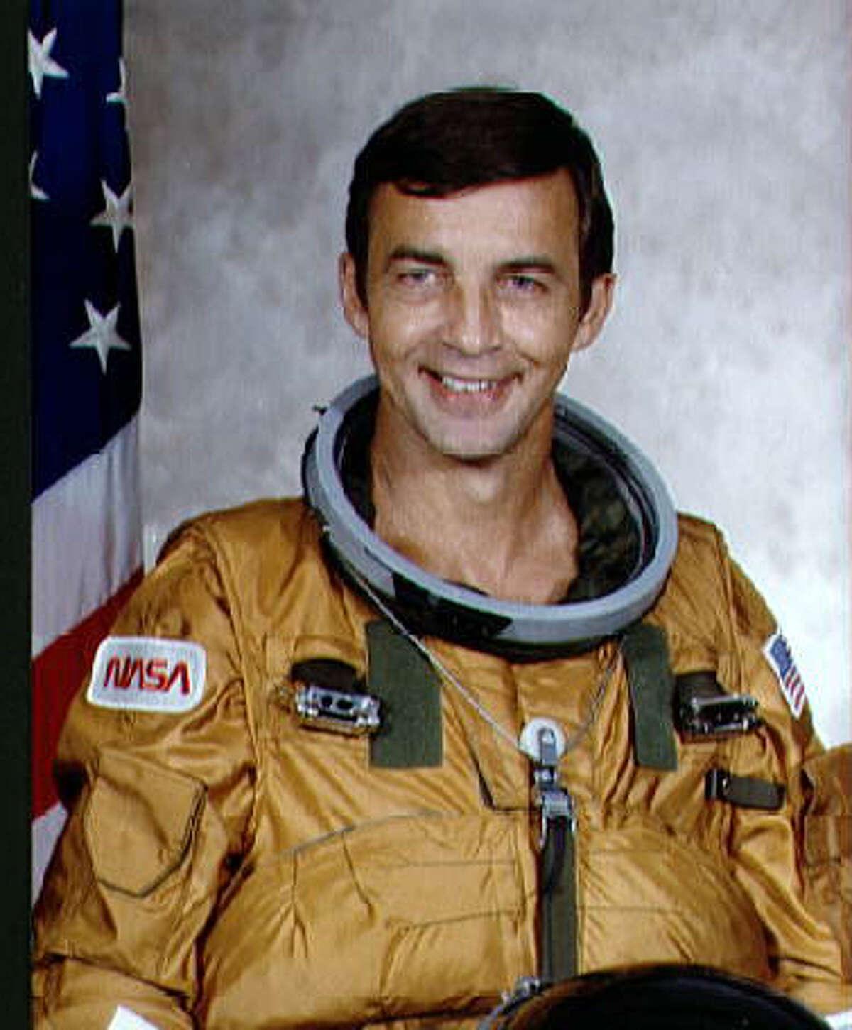 Space Shuttle astronaut Don Peterson