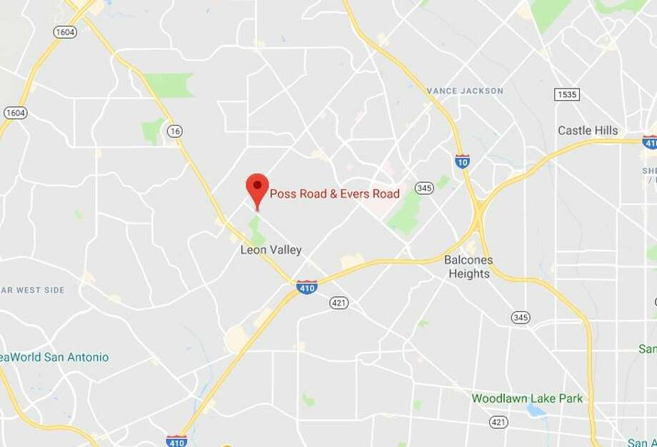 In a statement posted to the company's Twitter account, CPS said the gas line is located near Poss Road and Evers Road. It is unclear when the line was ruptured. Photo: Google Maps