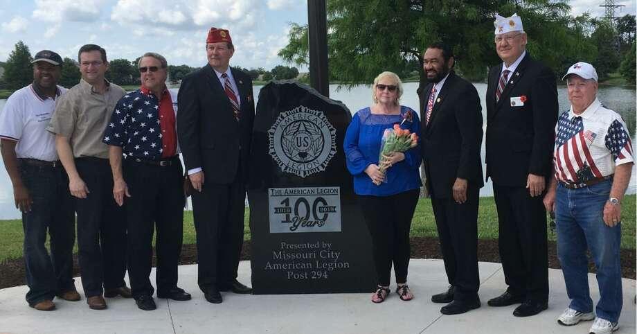 missouri city american legion post 294 marks 100 year dedication