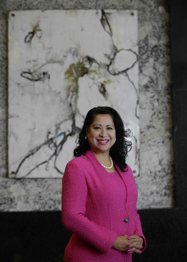Laura Murillo, president and CEO of the Houston Hispanic Chamber of Commerce shown Wednesday, May 23, 2018, in Houston  ( Melissa Phillip / Houston Chronicle ) Photo: Melissa Phillip, Staff / Houston Chronicle / © 2018 Houston Chronicle
