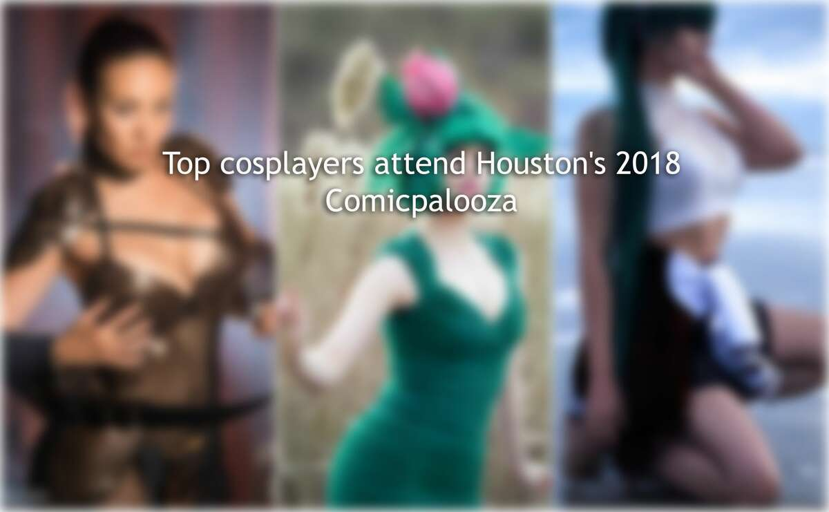 Swipe through to see other cosplayers who attended Comicpalooza.