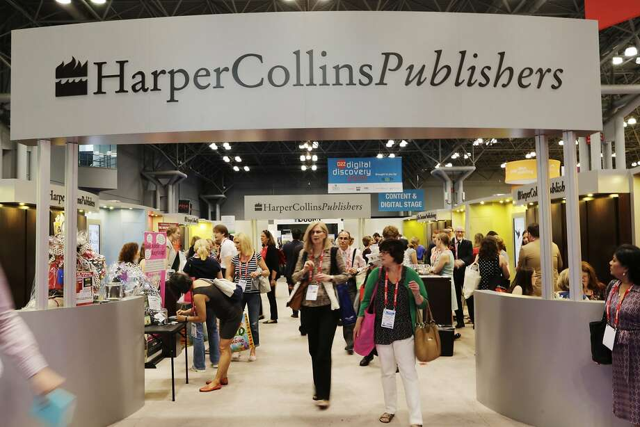 BookExpo visitors in 2015 check out offerings from HarperCollins. The event is being held this week in New York. Photo: Mark Lennihan / Associated Press 2015