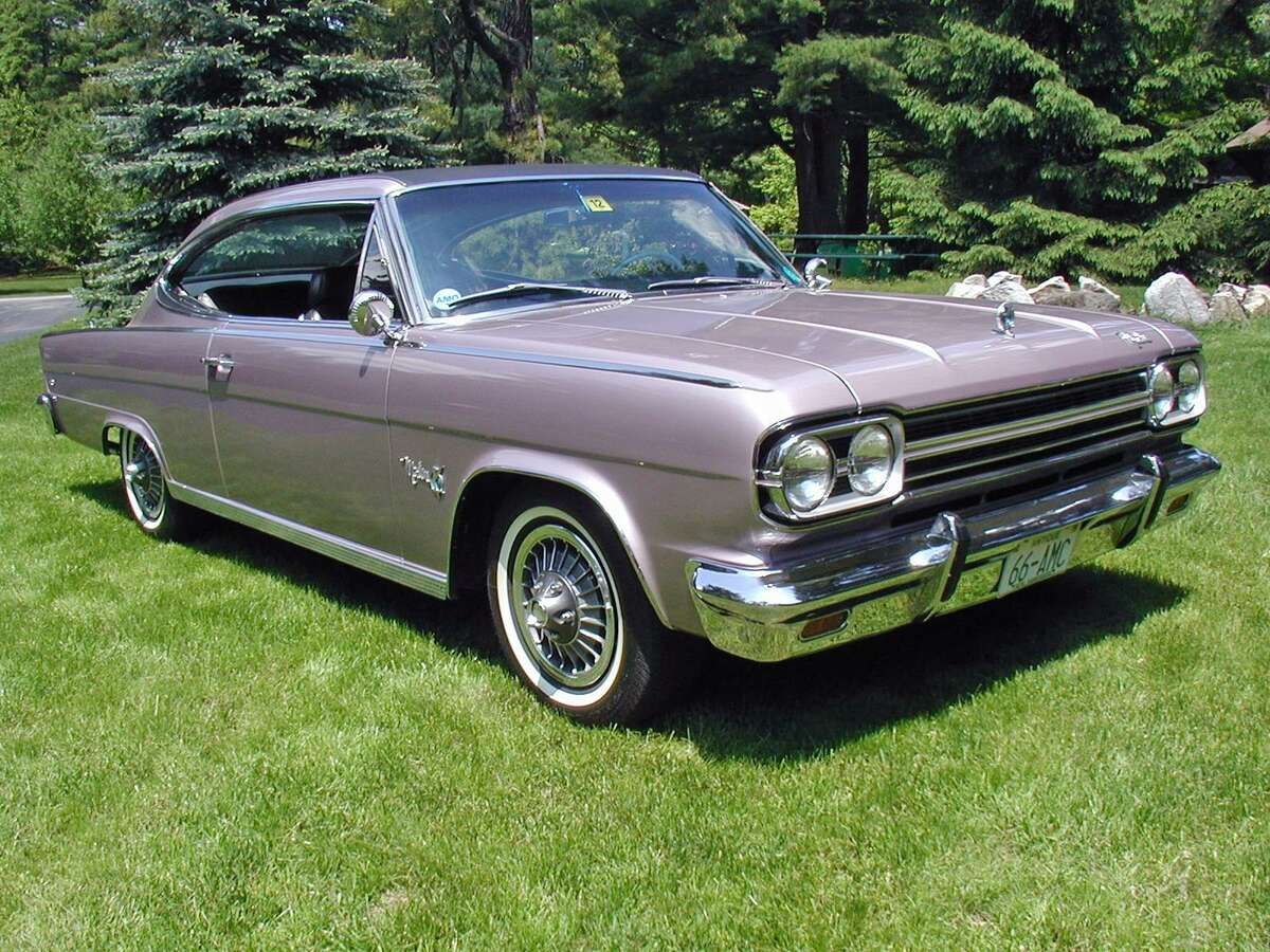"""Above is a 1966 AMC Marlin """"Sport Fastback."""""""