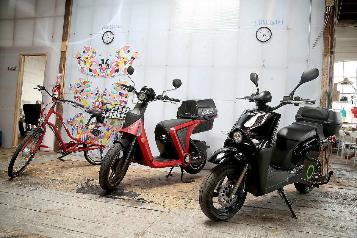 CEO Michael Keating of Scoot, a San Francisco-based shared electric mobility company on Thursday, May 24, 2018 in San Francisco, Calif. Scoot will announce its market and fleet expansion of e-bikes.