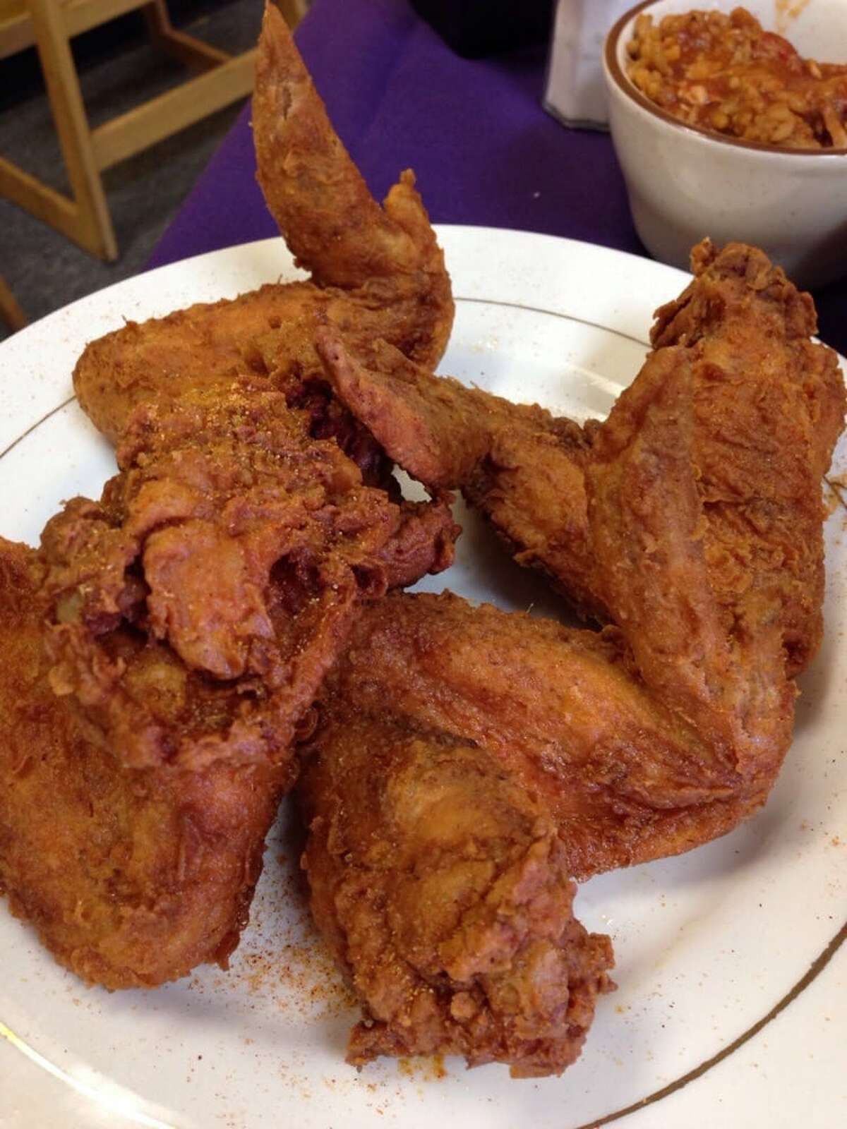 >>>See Houston's best fried chicken restaurants. Le' Pam's House of CreoleWhere: 1644 FM 1960 W, Ste AYelp Rating: 5 stars Photo: Laurel W./Yelp