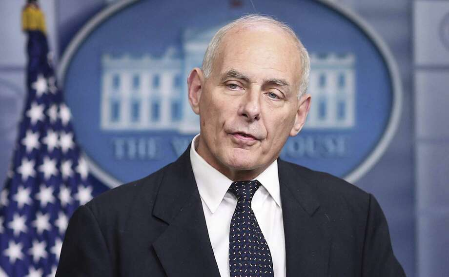 "Among those on the hit parade of those insulting Latinos, include White House Chief of Staff John Kelly, who recently said undocumented immigrants from Latin America do not assimilate very well because they are often poorly educated and ""overwhelmingly rural people"" who ""don't have skills."" Much the same thing was said about Kelly's Irish ancestors. Photo: Olivier Contreras /TNS / Sipa USA"