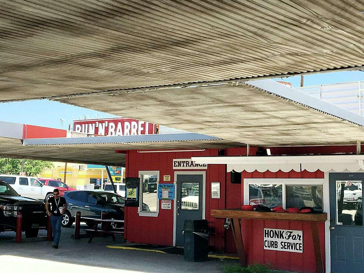 The Bun 'N' Barrel has been serving San Antonio diners on Austin Highway since 1950.