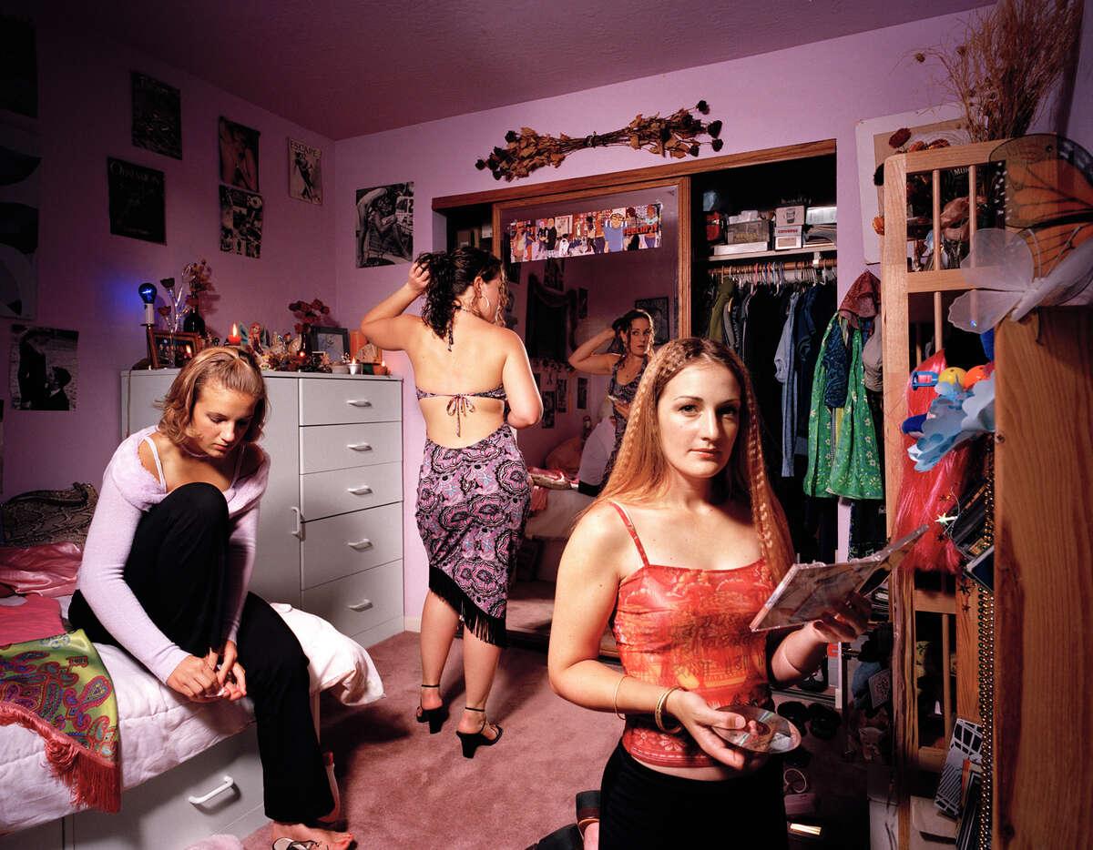 Niki, Rita, and Lucia in 2000
