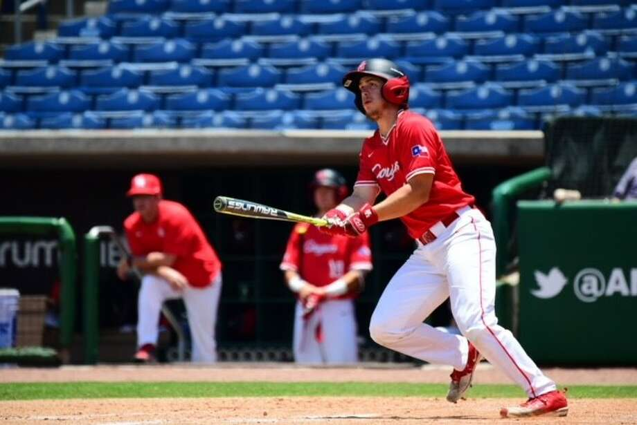 "University of Houston sophomore outfielder Tyler Bielamowicz has been called the ""unsung hero"" of this year's Cougars team. Photo: University Of Houston Athletics"