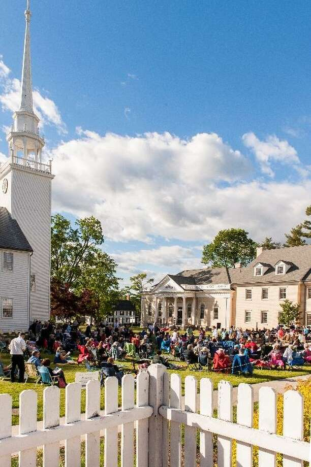 The Farmington Valley Symphony Orchestra will perform outdoors at  First Church, Farmington. Photo: Lou Russo Photograph / Contributed Photo / © Lou Russo Photography / © Lou Russo Photography