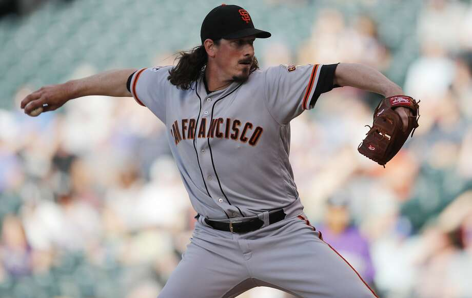 giants lose two pitchers to injuries fall again to rockies sfgate
