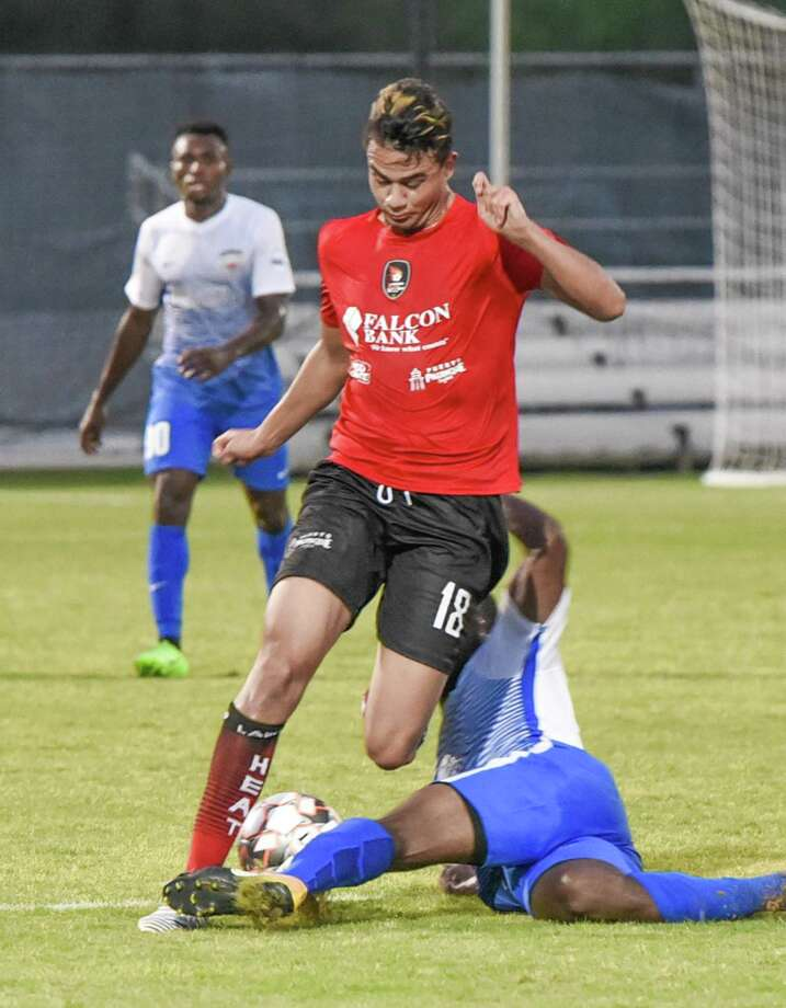 The first-place Laredo Heat (3-0) host FC Brownsville (2-1) at TAMIU's Dustdevil Field Wednesday night at 8:15 p.m. Photo: Danny Zaragoza /Laredo Morning Times File