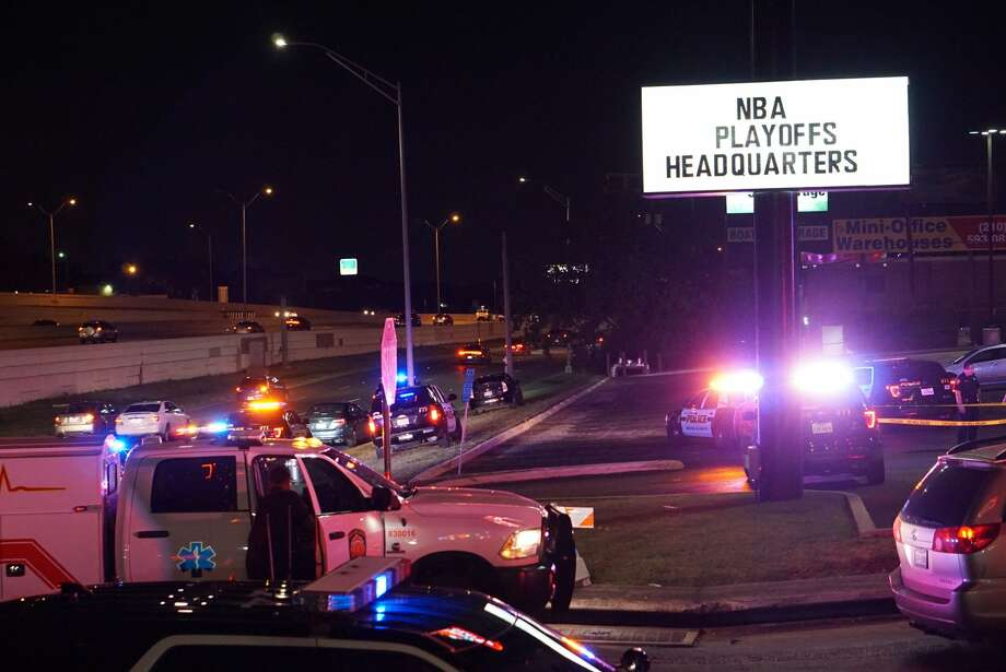 San Antonio police are investigating a shooting at the AllStar Gentleman's Club. Photo: Jacob Beltran