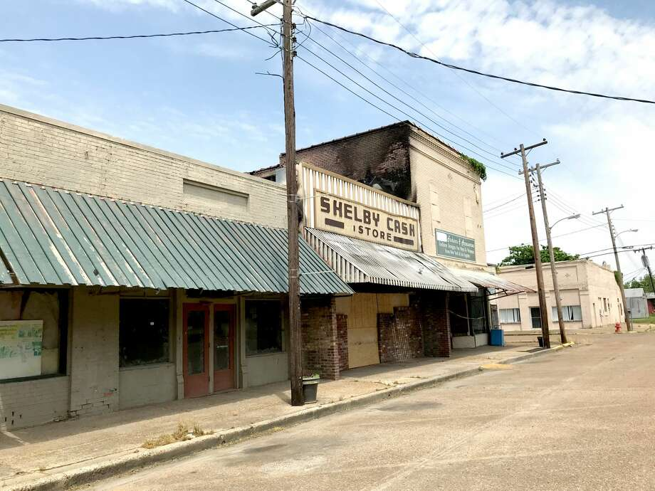 Downtown Shelby, Mississippi on a spring day in 2018. One hundred years ago, Shelby was one of the wealthiest cities per capita in the Delta. Photo: Save The Children