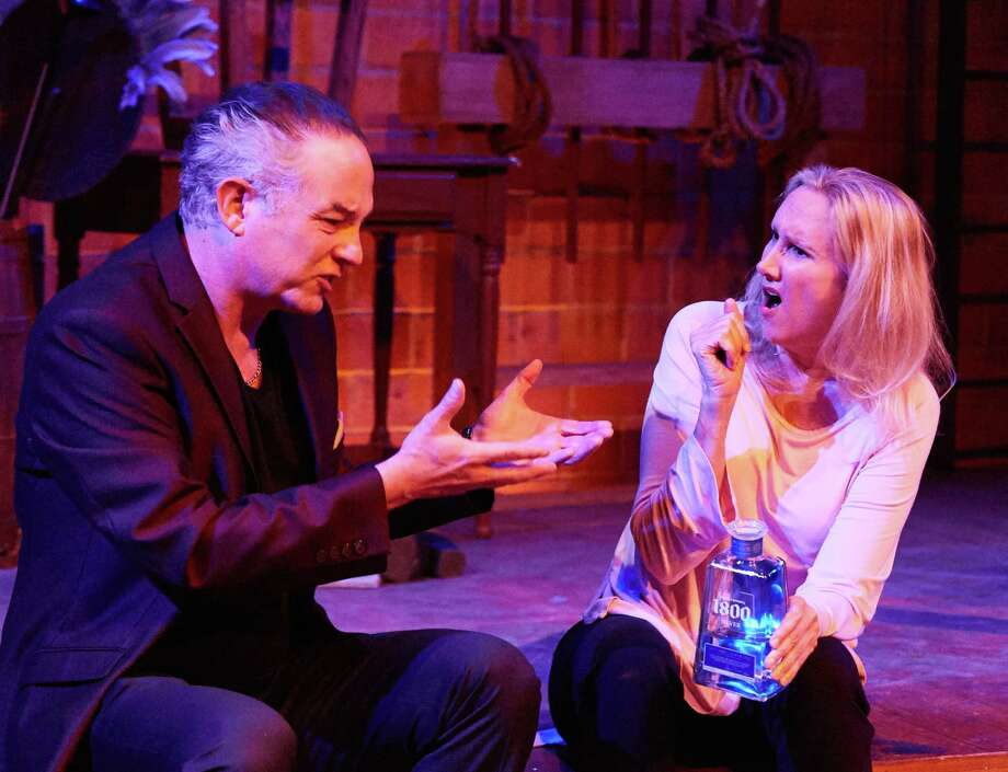 """Philip Lehl and Kim Tobin-Lehl in """"Shakespeare in Vegas,"""" at 4th Wall Theatre Co. Photo: Gabriella Nissen, Gabriella Nissen Photography / Gabriella Nissen / Date:    5/11/2018  To:    Kim Tobin & Philip Lehl              4th Wall Theatre Company              1126C W. 17th Street"""