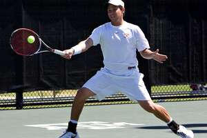 Former Texas Longhorn Miguel Reyes Varelais is competing in the 2018 French Open. (Courtesy the University of Texas)