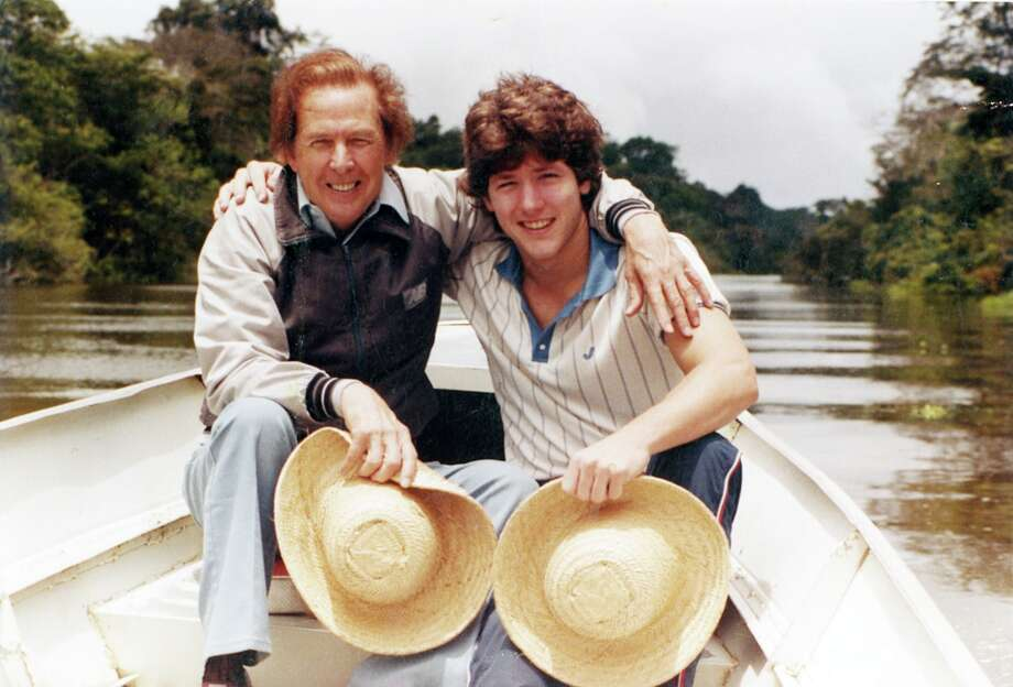 Joel Osteen and his father, John, had a close relationship. When John fell ill in 1999, he asked his son to preach in his place. (Courtesy of Lakewood Church)