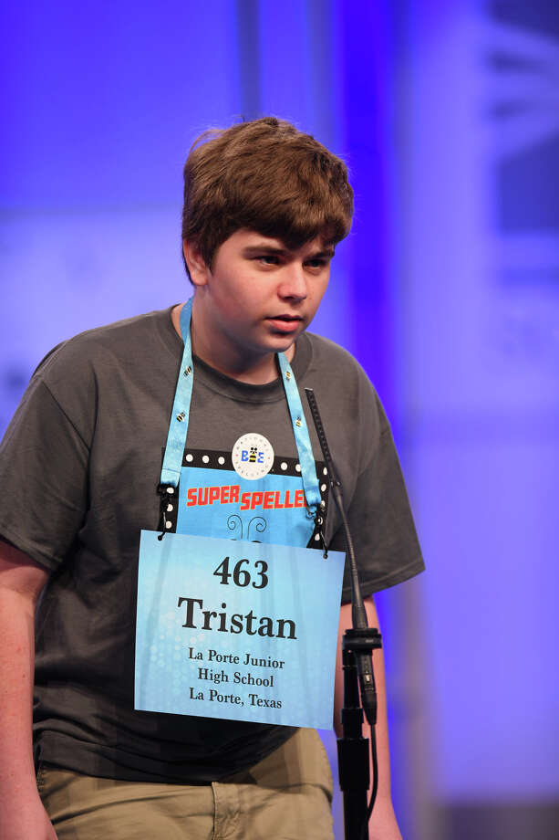 Tristan Harper (Shoreacres, TX) Photo: Mark Bowen/Scripps National Spelling Bee