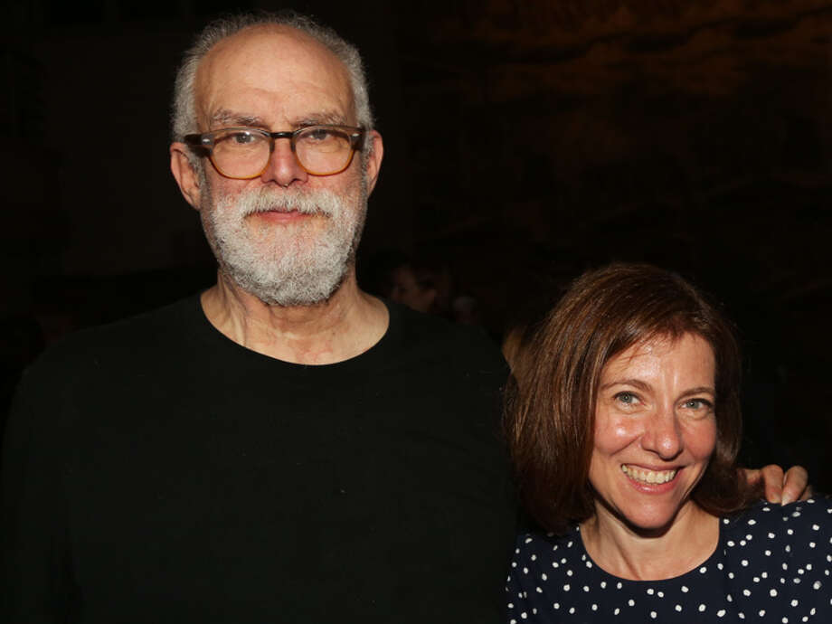 "Tony winners William Finn and Rachel Sheinkin, the creators behind the new musical premiering at Barrington Stage ""The Royal Family of Broadway."""
