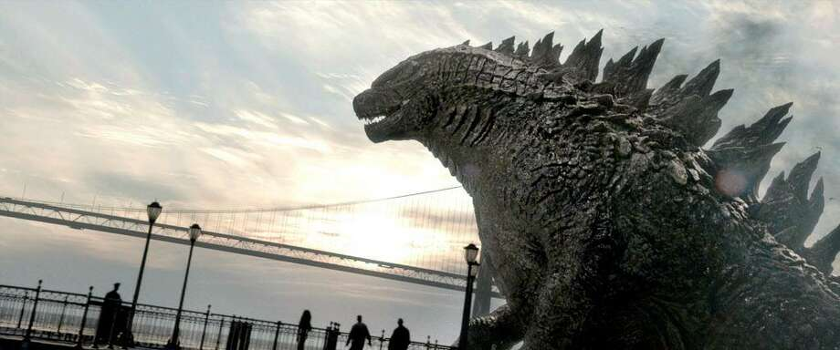 """The 2014 film """"Godzilla"""" is a part of a special screening at the Bruce Museum in Greenwich on June 10. Photo: Warner Bros. Pictures / TNS / MCT"""