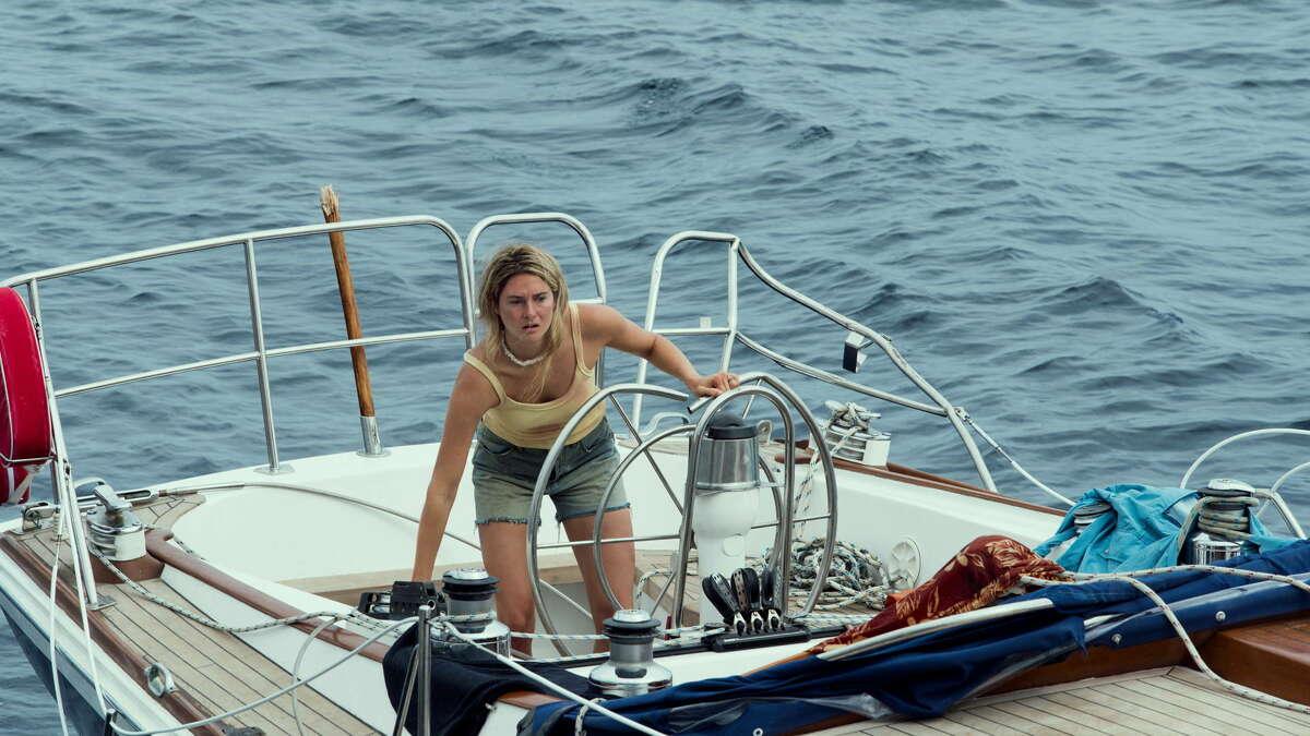 "Shailene Woodley stars in ""Adrift."" Courtesy of STXfilms"