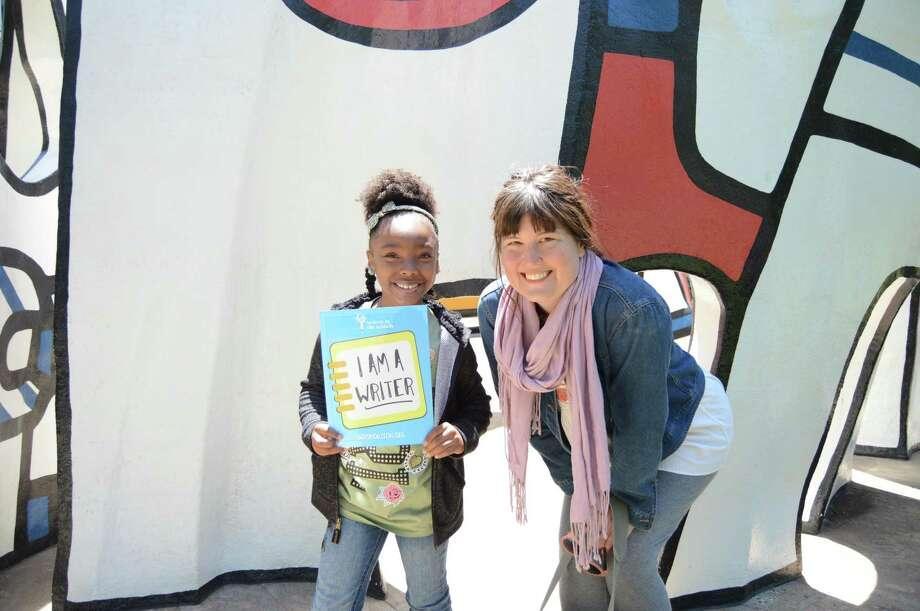 Writers in the Schools helps encourage kids to write. Photo: Alyssa Hartgrove / Alyssa Hartgrove