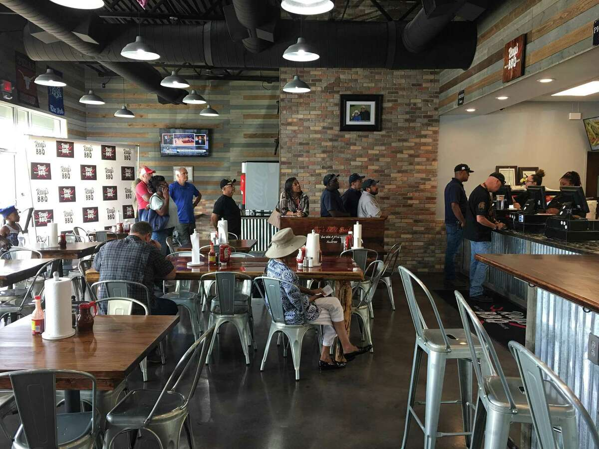 Inside the new Ray's BBQ Shack at 3929 Old Spanish Trail.