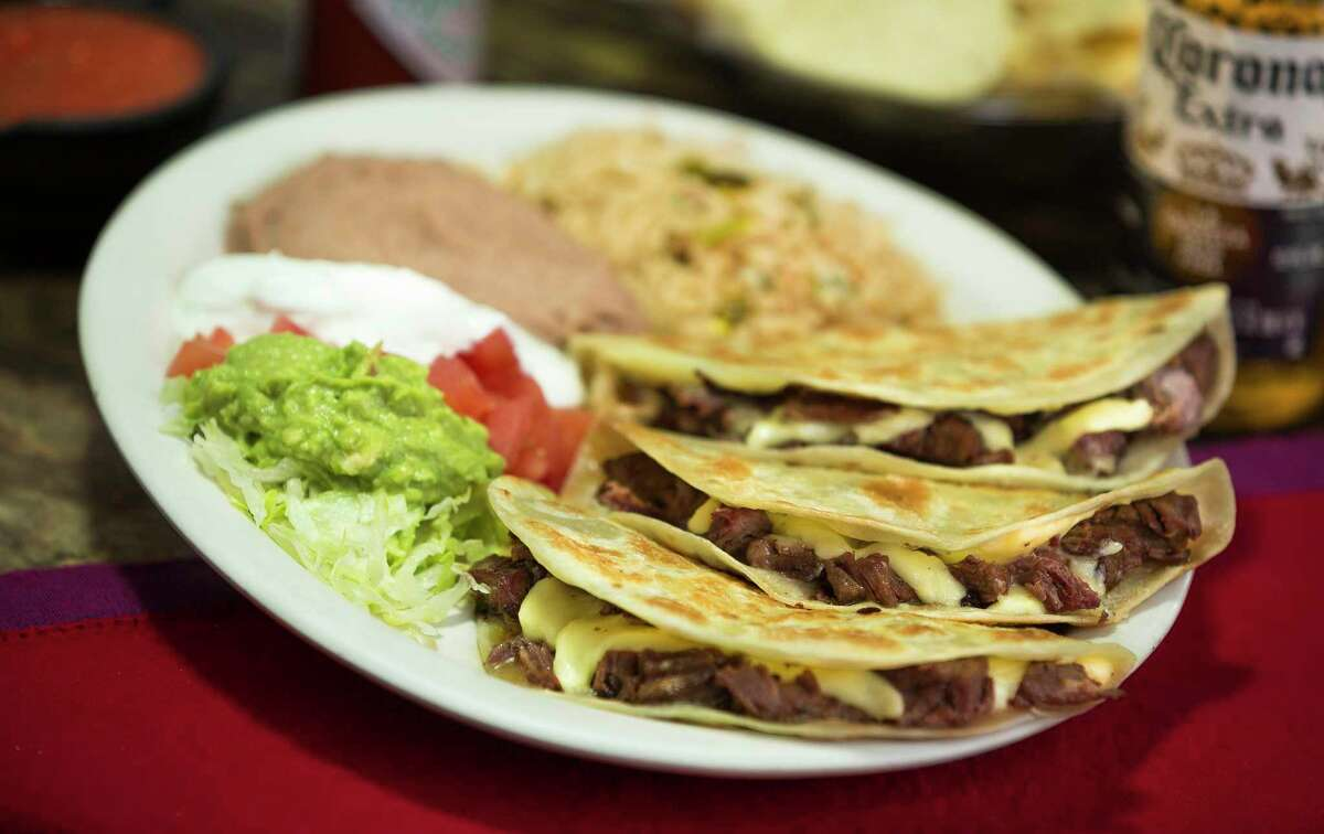 Lopez Mexican Restaurant is opening its second restaurant on June 2 at 7277 West Grand Parkway South in Richmond. Shown: Quesadillas.