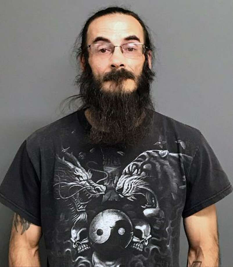 Joshua Gendron, 43, was charged with carrying a pistol without a permit, unlawful discharge of a firearm and illegal taking of a bear, according to the Department of Energy and Environmental Protection Conservation Police. Photo: Contributed Photo / DEEP / Contributed Photo / Connecticut Post Contributed