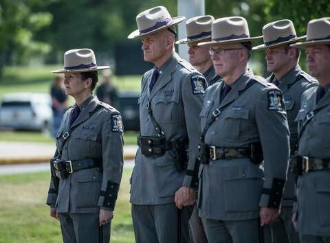 State Police present awards, honor deceased troopers - Times