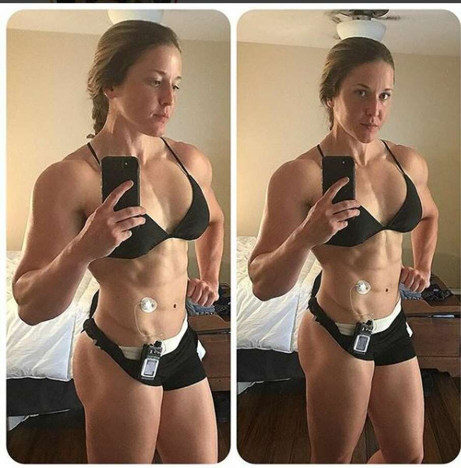 Lauren Howe, 31, is a San Antonio resident with Type 1 diabetes who is making strides in her bodybuilding goals. Photo: Courtesy Lauren Howe