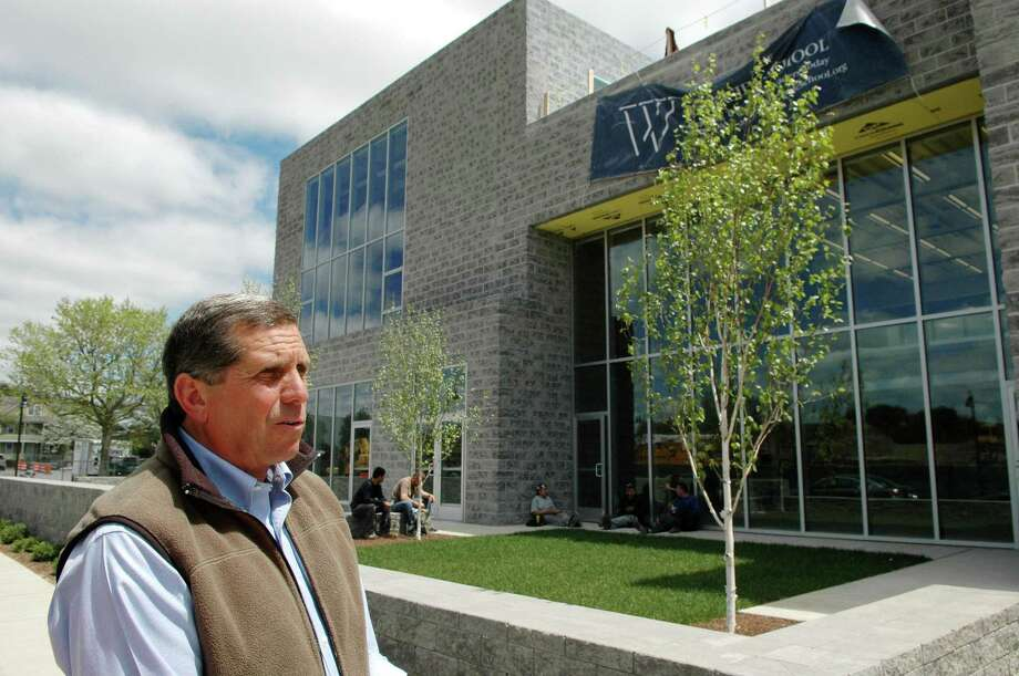 Duncan Edwards, Executive Director of Waterside School, at the school building at 770 Pacific St. in Stamford, Conn. Photo: Hearst Connecticut Media File Photo / Stamford Advocate