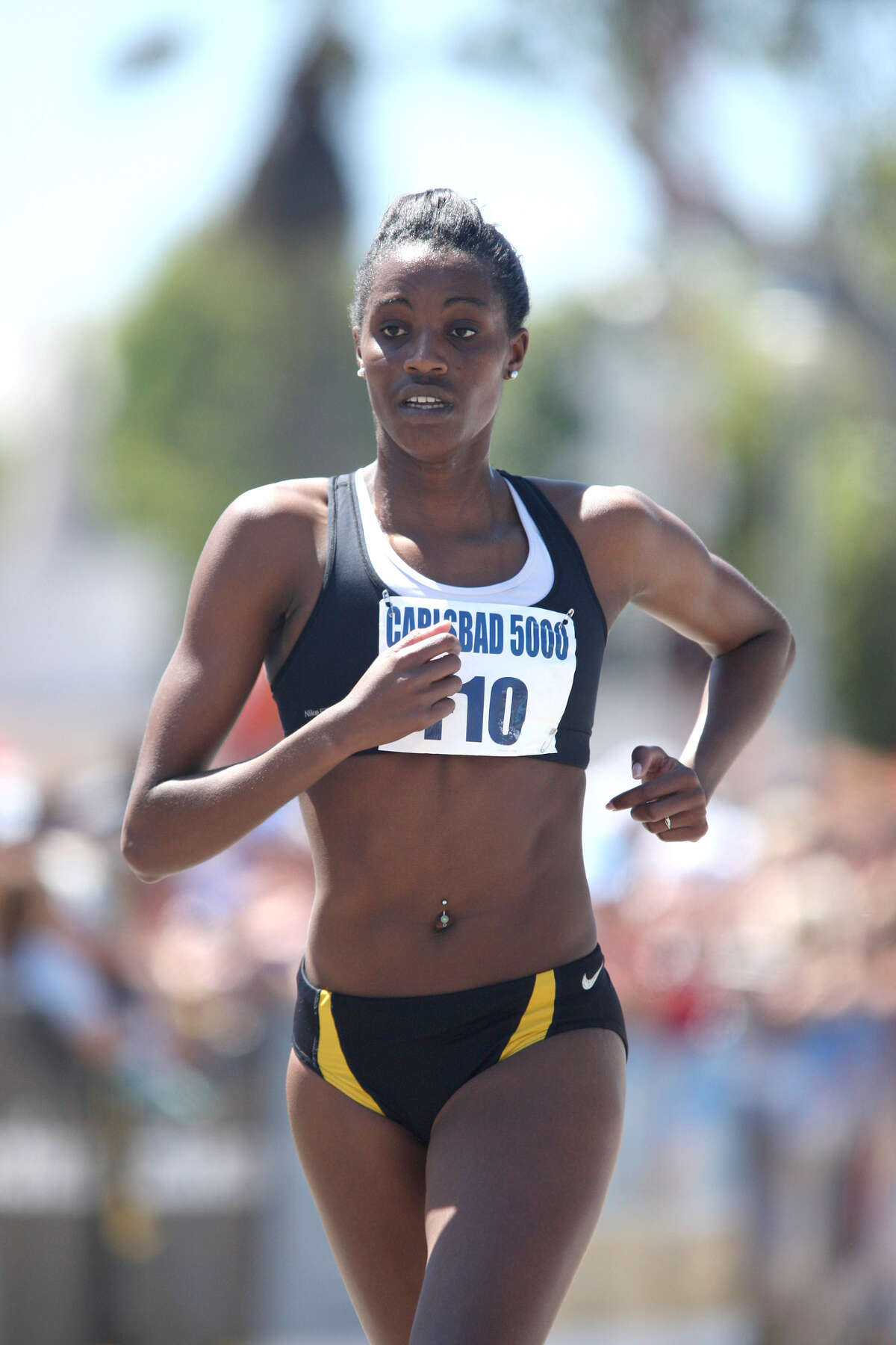Diane Nukuri has competed in three Olympics for her home country of Burundi. (Freihofer's Run For Women)