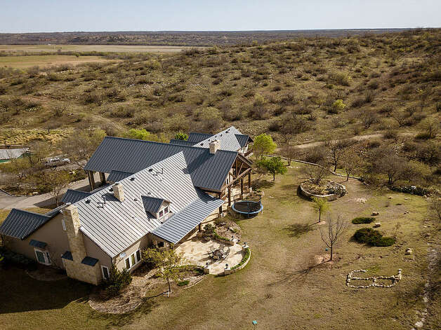The 3,266-acre Circle J&B Ranch in north Texas is on the market for $12.5 million. The ranch is known for its extensive hunting grounds and comes with a 8,000 square-foot home. Photo: Icon Global Group