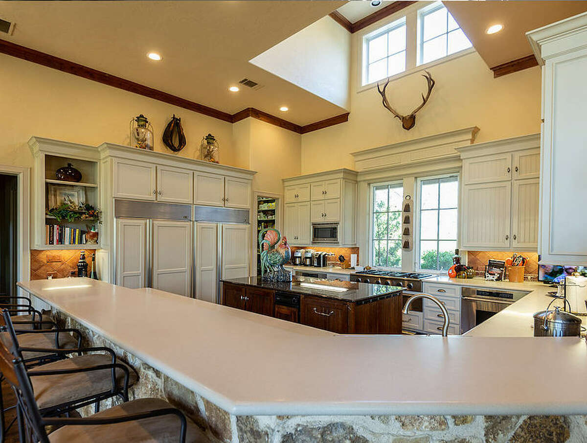 The 3,266-acre Circle J&B Ranch in north Texas is on the market for $12.5 million. The ranch is known for its extensive hunting grounds and comes with a 8,000 square-foot home.
