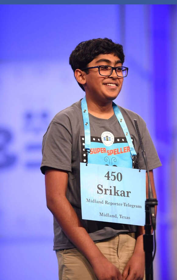 Srikar Chamarthi is competing this week at his third and last Scripps National Spelling Bee. Photo: Courtesy Photo