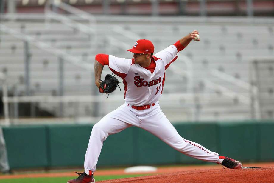 Wallingford's Turner French and St. John's will play in the NCAA's Clemson Regional this weekend. Photo: St. John's Athletics