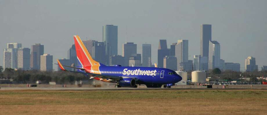 A Southwest Airlines Boeing 737 taxis after landing at Houston's Hobby Airport.  >>Secrets flight attendants won't tell you Photo: Bill Montgomery / Houston Chronicle