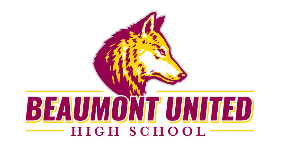 Beaumont ISD released logos and mascot designs for the Beaumont United High School Timberwolves. Photo: Provided By Beaumont ISD